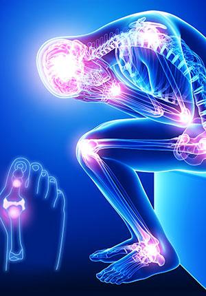"""由于膝关节是""""皮包骨头"""",缺少肌肉及脂肪的保护,得不到充足的热量供应"""